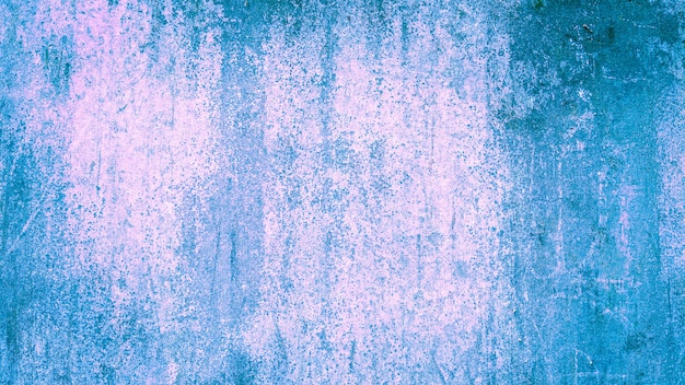 Texture background of wall blue pink gradient color