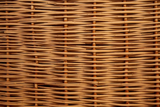 Texture, background of wicker straw