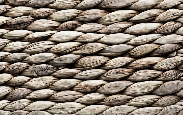 Texture background with horizontal rope stripes
