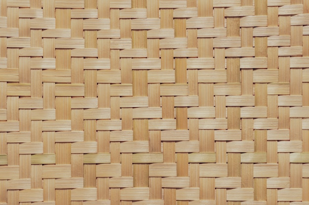 Texture of bamboo wicker.