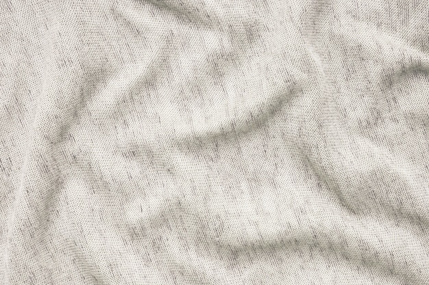 Texture of beige fabric white background