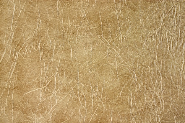 Texture of beige leather.