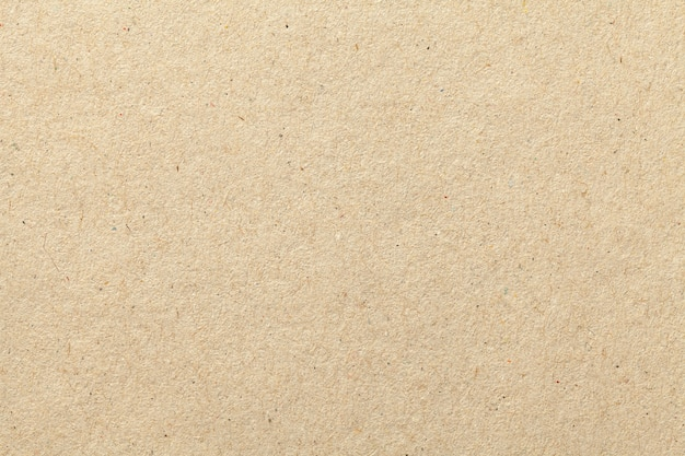 Texture of beige old craft paper, crumpled background.
