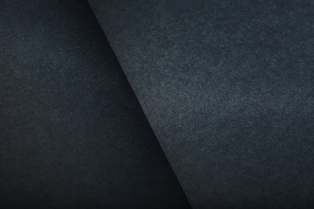 The texture of a black blank page tablet for pastels. black background of paper texture.