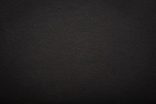 Texture of black concrete