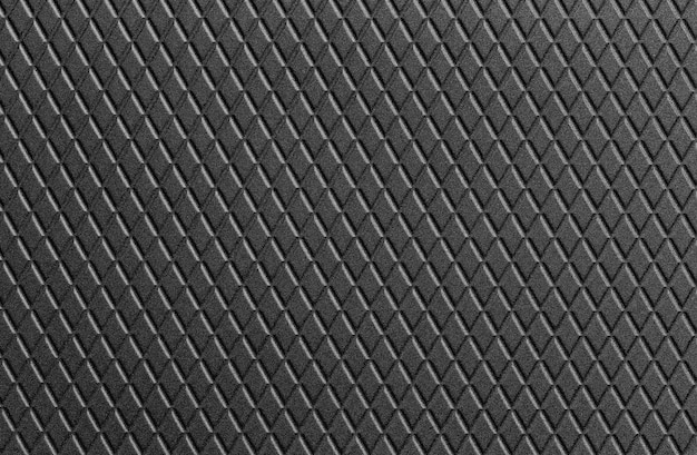 Texture of black leather background.