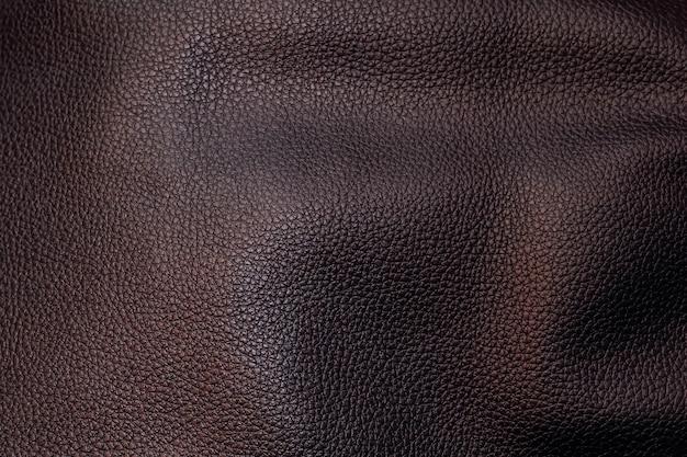 Texture black leather