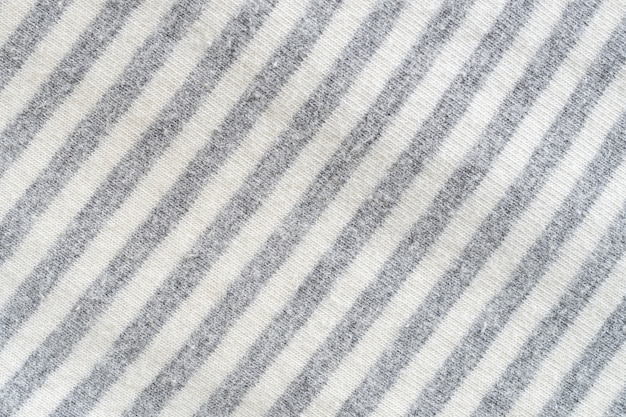 Texture of black and white fabric pattern