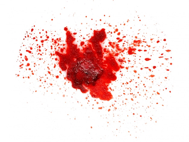 Texture of a blood