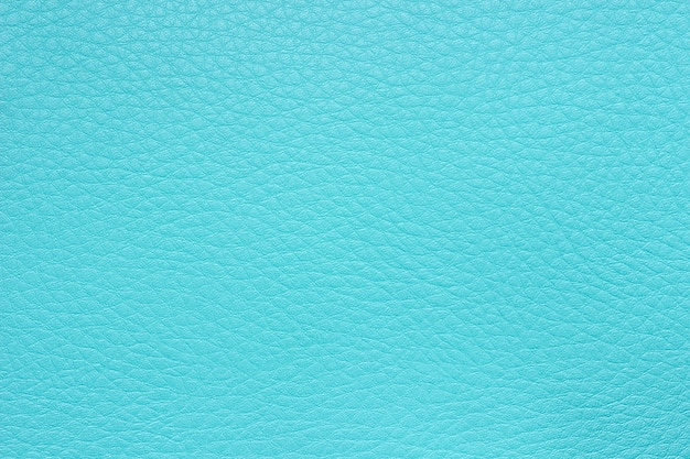 Texture of blue artificial leather surface