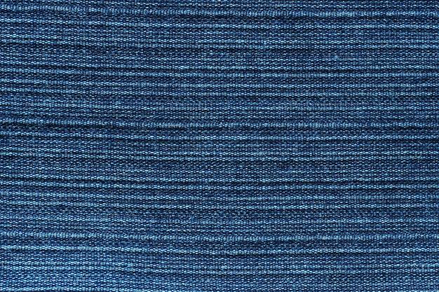 Texture blue jeans close-up