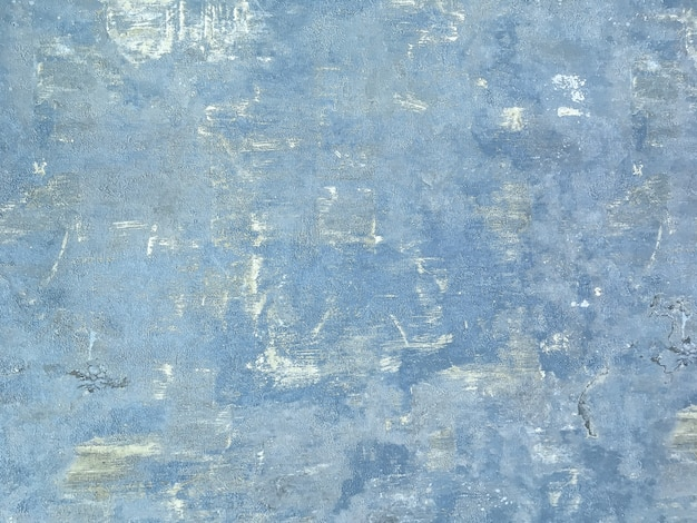 Texture of a blue old shabby wooden background.