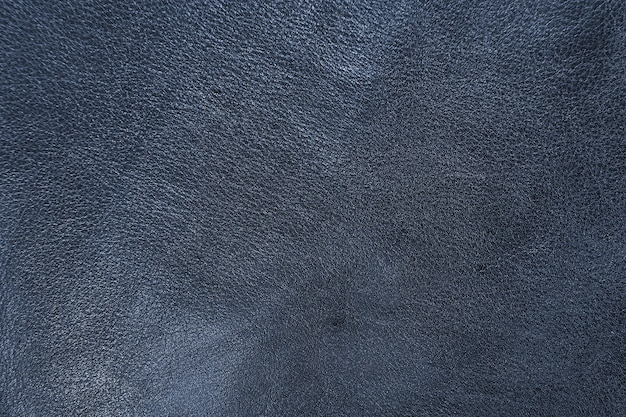 Texture of blue sheepskin cow leather processed