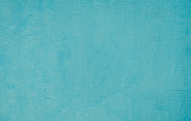 Texture of blue turquoise paint wall background