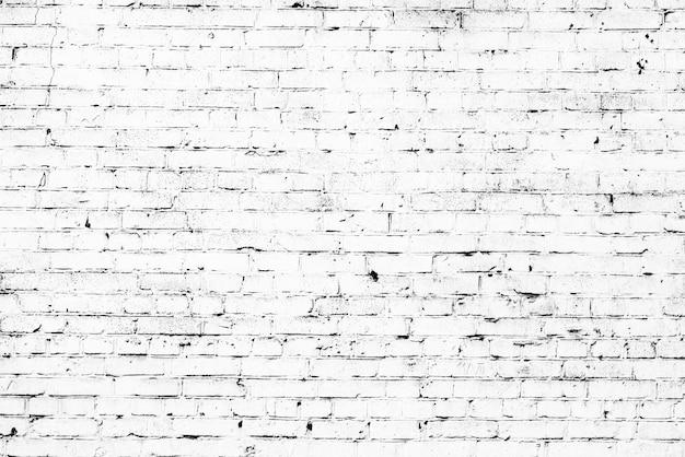 テクスチャ、レンガ、壁、背景。傷やひび割れのあるレンガの質感