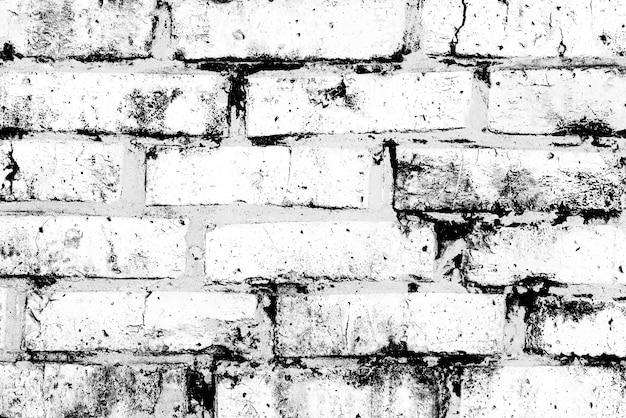 Текстура, кирпич, фон стены. текстура кирпича с царапинами и трещинами