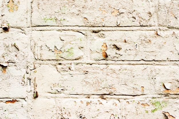 질감, 벽돌, 벽, 배경으로 사용할 수 있습니다. 긁힌 자국과 균열이 있는 벽돌 질감