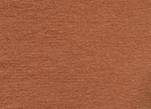 Текстура коричневого цвета на ткани