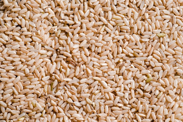 Texture of brown rice