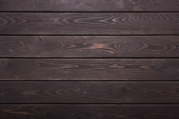 Texture brushed wood painted impregnation to protect