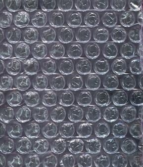 Texture bubble wrap polyethylene background