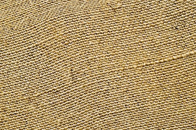 Texture of canvas sackcloth natural material background