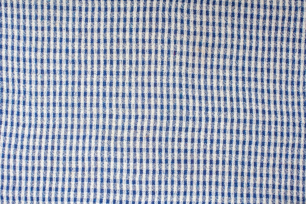 Texture of checkered fabric.