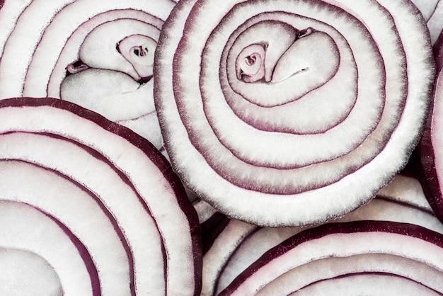 Текстура крупным планом на вкусной пищевой композиции