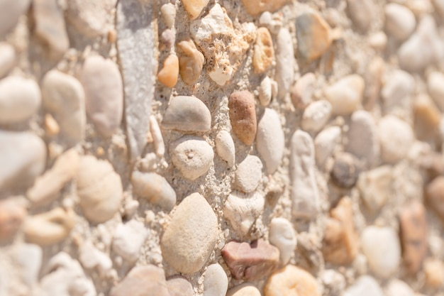 Texture of close up stones