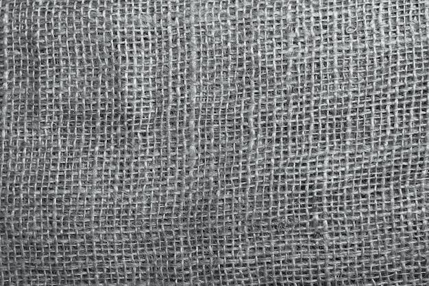 The texture of coarse burlap closeup. burlap texture background