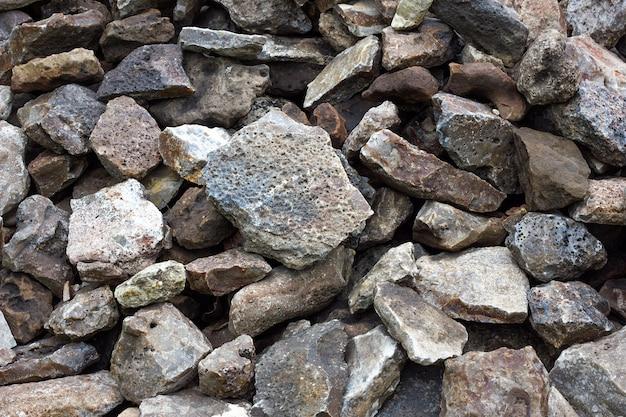 Texture of cobblestone