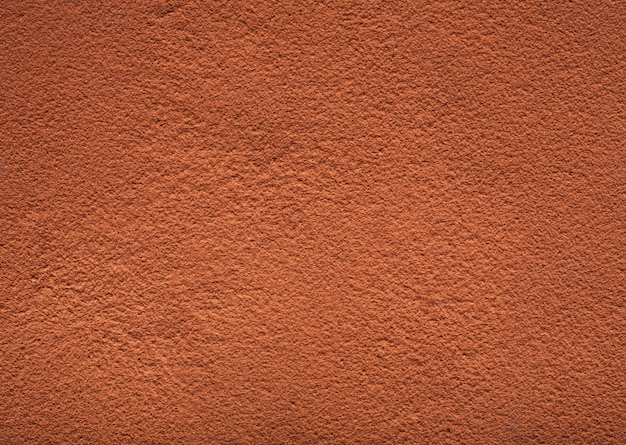 Texture of cocoa powder