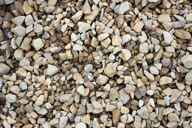 Texture of colored crushed stone