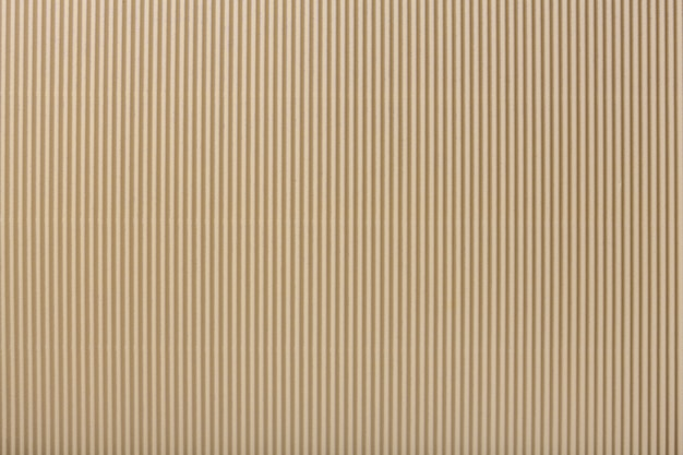 Texture of corrugated light beige paper