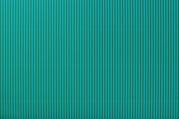 Texture of corrugated light turquoise paper