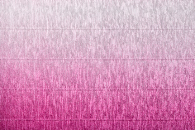 Texture of corrugated purple and white paper with gradient