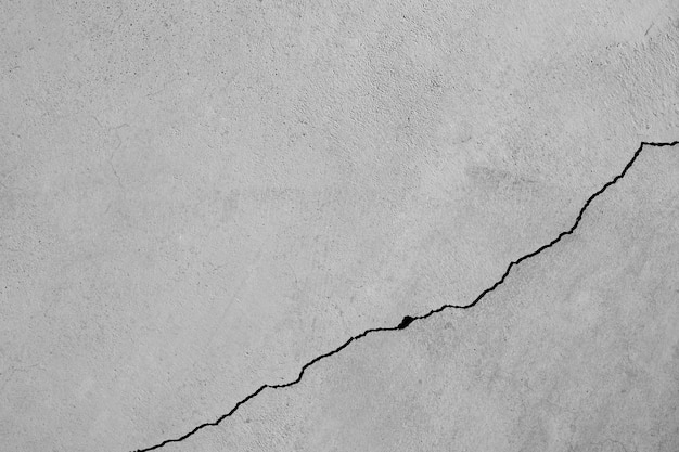 Texture of crack cement wall