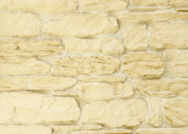 Texture of a cracked brown stone