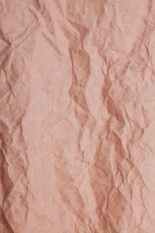 テクスチャしわくちゃの紙の背景。