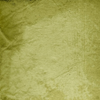 The texture of crumpled paper, wrinkled, green background,