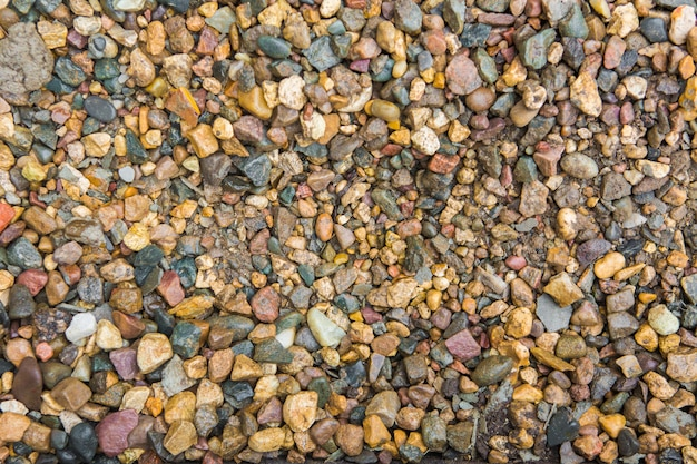 Texture of crushed stone. background