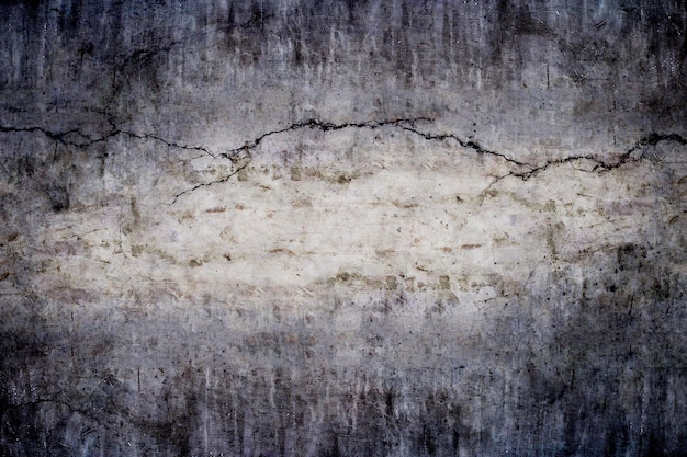 Texture of dark concrete wall for background.