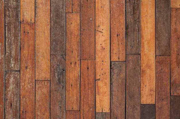 Texture of dark wooden planks