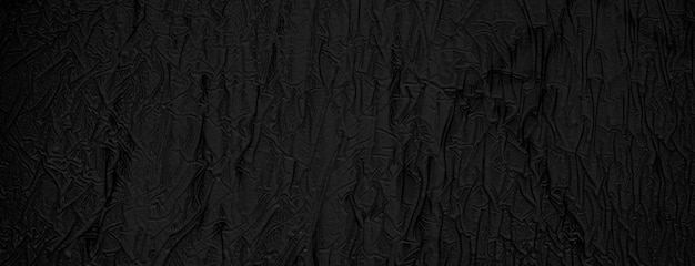 Texture of dried black paint