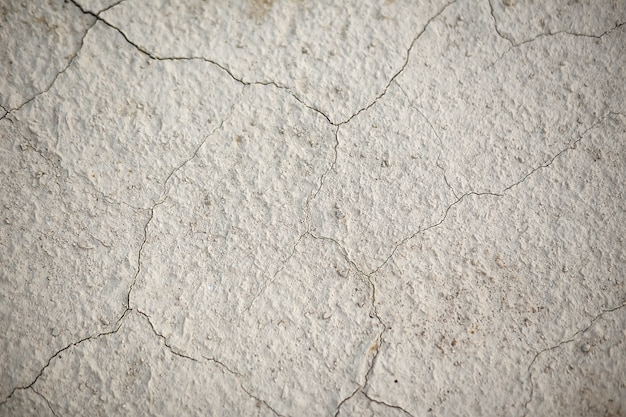 The texture of the earth in cracks
