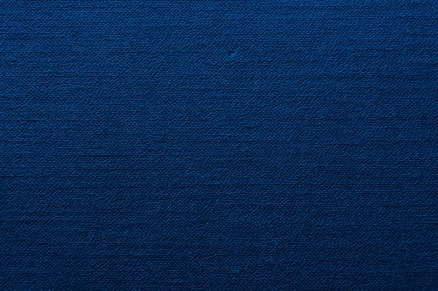 Texture fabric blue color