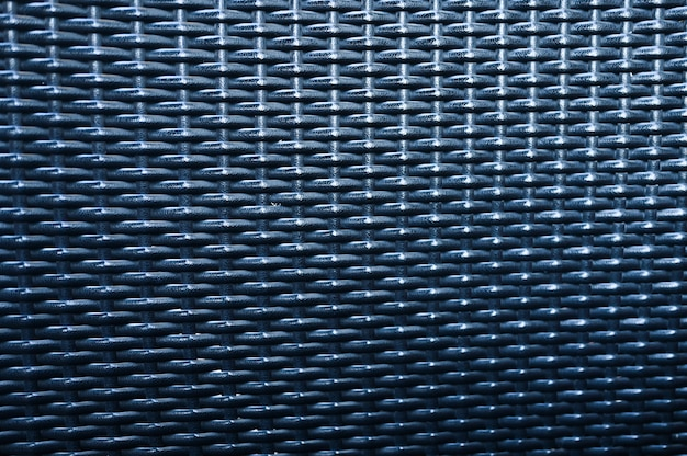 Texture of furniture rattan. close-up of a gray rattan