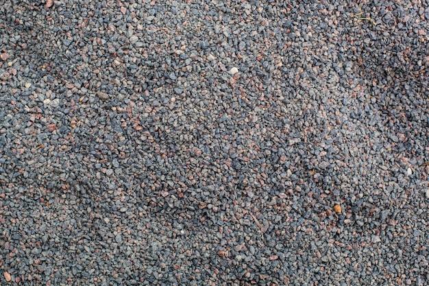 Texture of  gravel playground