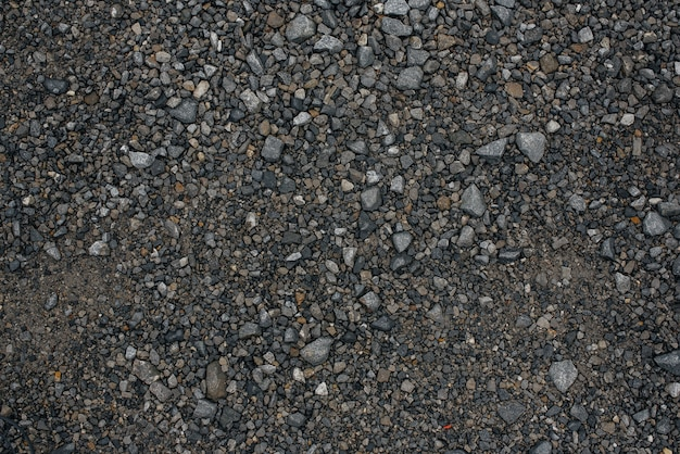 Texture of gravel, stones.