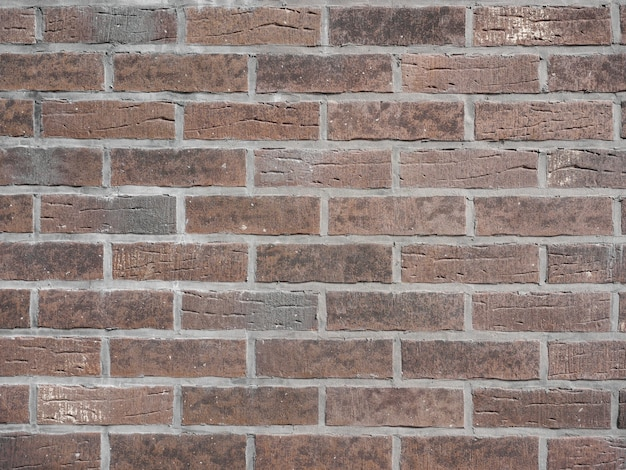 Texture of a gray brick wall background